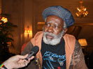 Interview met Burning Spear in het Théâtre National