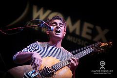 Paolo Angeli (WOMEX 2014) — © Jacob Crawfurd