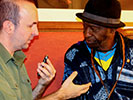 Interview met Issa Cissokho (Orchestra Baobab, De Roma)