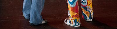 Sfinks Mixed (juli 2011) — Uw outfit was wederom even kleurrijk als de programmatie