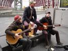 Interview met Los Callejeros (Centraal Station Antwerpen)